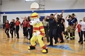 Police and Fire Department in lip-sync challenge video